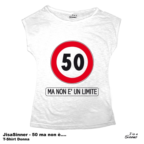 J is a Sinner - 50 ma non e' un limite