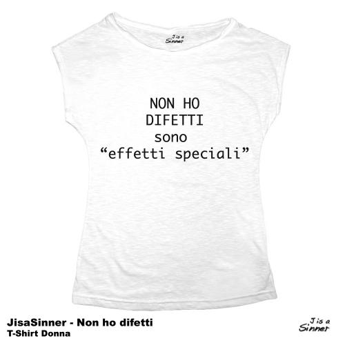 J is a Sinner - non ho difetti